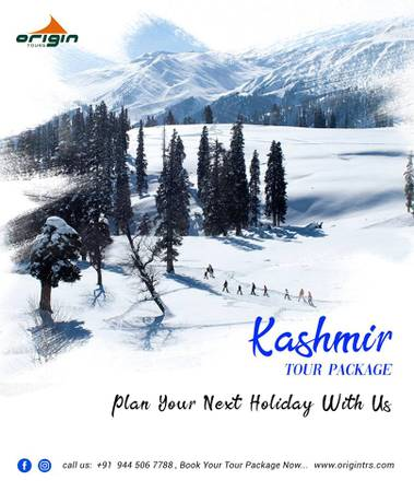Enjoy your Kashmir tour with best Tour agents in Chennai