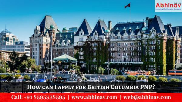 How can I apply for British Columbia PNP?