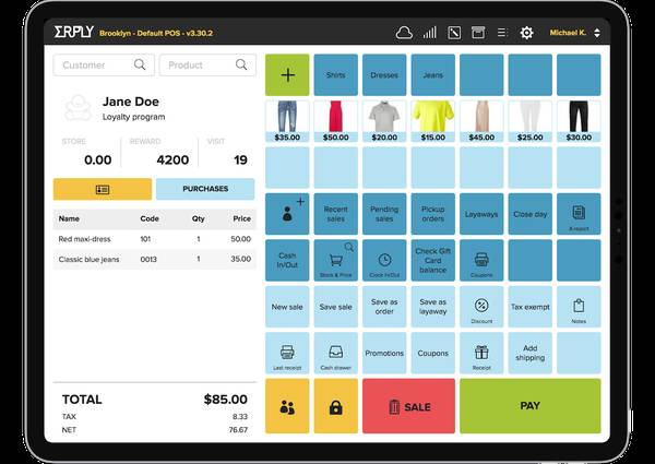 Improve your benefits with Retail POS Software by MARG ERP