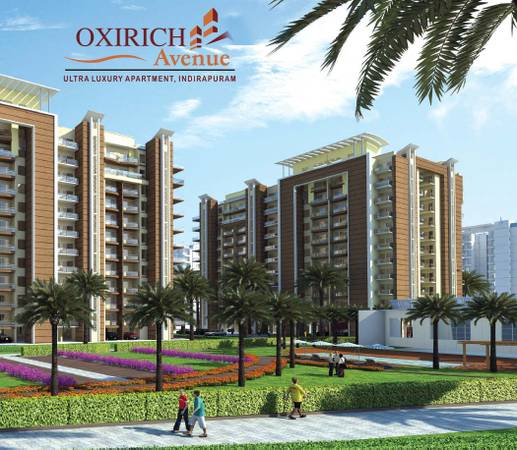 3bhk Luxurious Ready to move Homes in Indrapuram at 1.06 cr