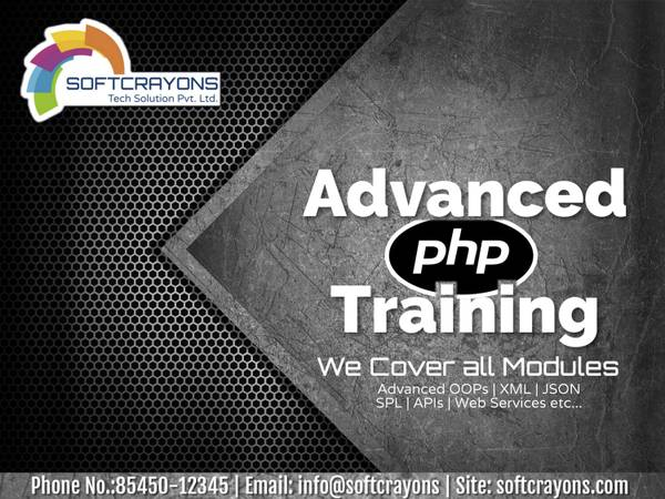 Advanced PHP Training courses coaching Institute In
