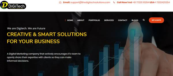 Online Marketing Company In Pune | The Digitech Solutions