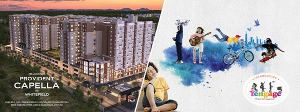 1, 2 & 3 BHK Flats for Sale in Whitefield