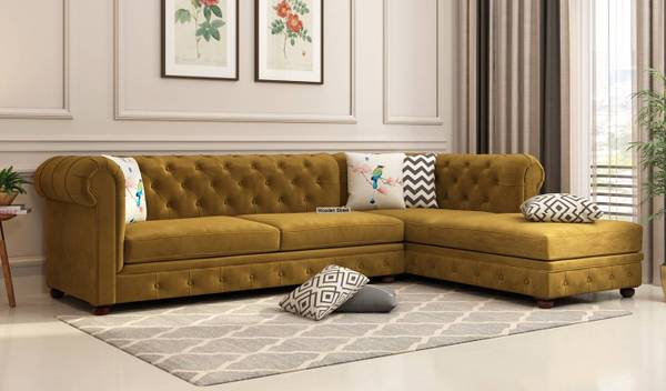Have a Look at this Admirable Collection of L shape sofa in
