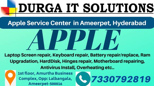 Looking for Apple Laptop service center Ameerpet, Hyderabad?