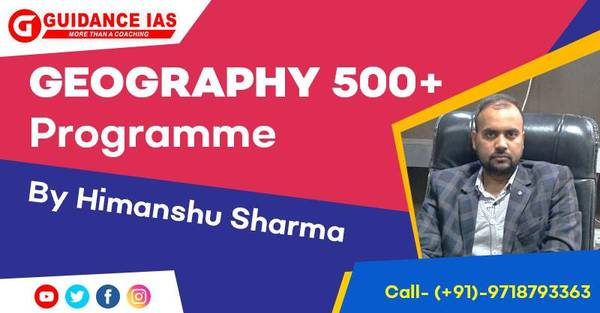 Himanshu Sharma Best Teacher for Geography Optional |