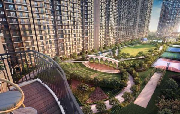 ATS Pious Hideaways: 3 & 3 BHK + Study apartments with