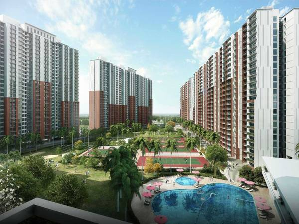 Eureka Park Sector 150 Noida offers 2 and 3 BHK flats.