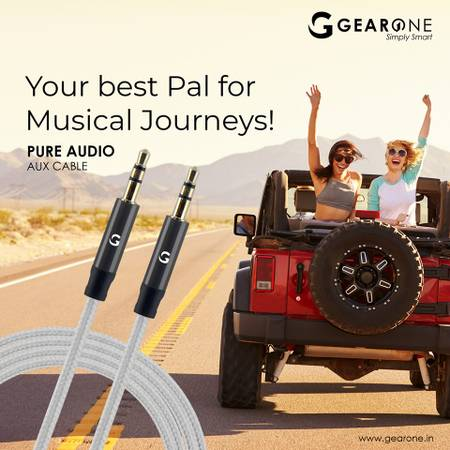 GearOne- The Best Aux Cable In Delhi