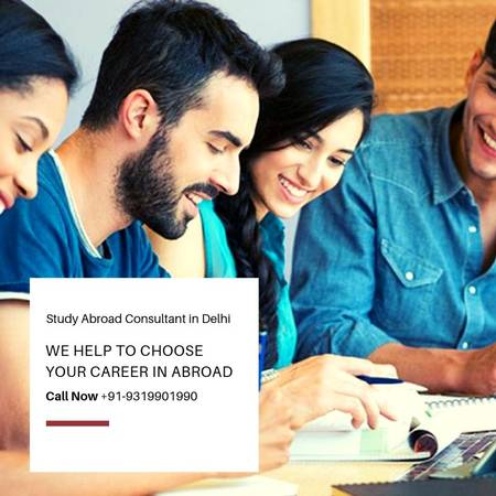 Study Abroad Consultant in Delhi helps to choose best career
