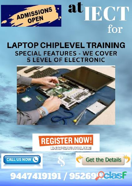 ADVANCE TRAINING FOR LAPTOP CHIP LEVEL SERVICING COURSE