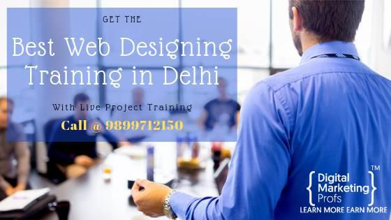 Best Web Designing Training in Delhi