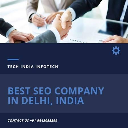 Tech India Infotech - Best SEO Company in Delhi, India