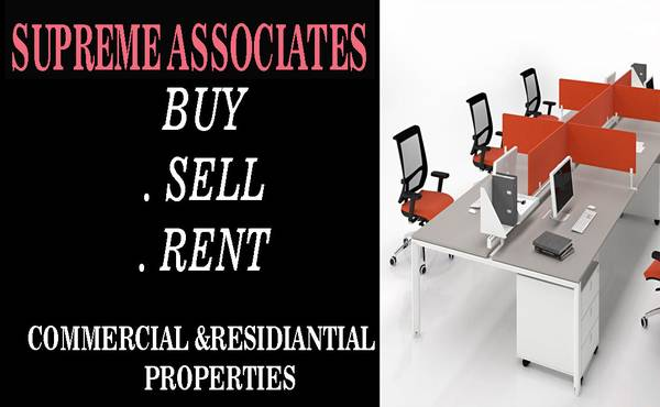 sq.ft, posh hi furnished office space for rent at mg