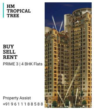 HM TROPICAL TREE Semi Furnished 3 BHK Flat for SALE