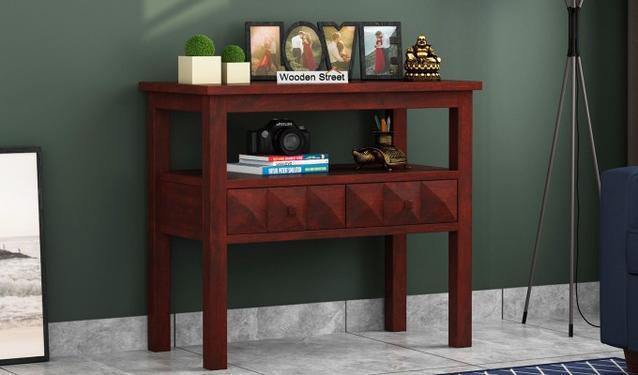Praise Worthy Sheesham Wood Console Table in Noida Online