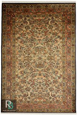 Royale Fleur Kashan Silk Carpet and rugs Yak Carpet