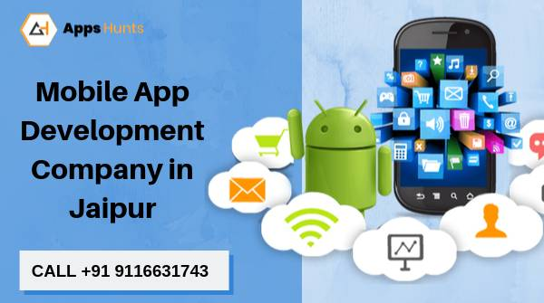 AppsHunts - Leading Mobile App Development Company in Jaipur