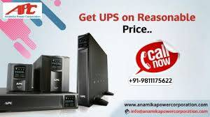 Get affordable services of UPS on rent in Delhi.