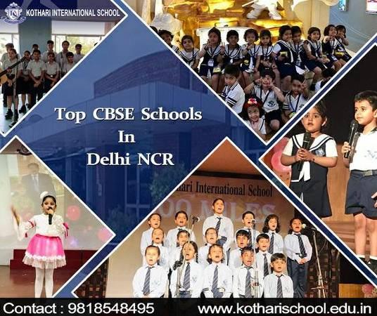 Top CBSE schools in Delhi, NCR