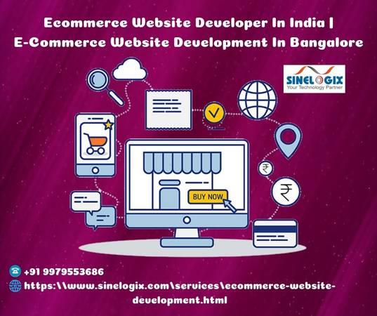 Ecommerce Website Developer In India | E-Commerce Website