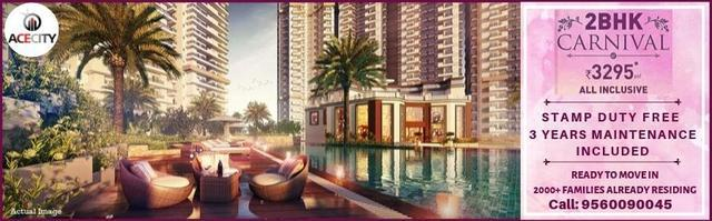 Ace City Greater Noida West 2BHK ready to move