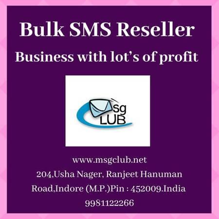 Bulk SMS Reseller Provider: A dependable backbone for your