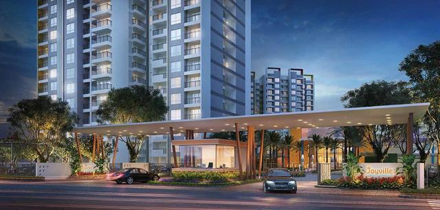 Joyville Luxury 2BHK Residences at 82 Lacs