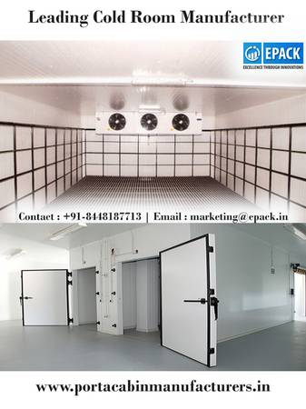 Best Cold Room Manufacturers India