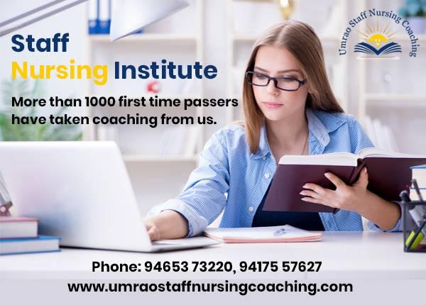 Best Staff Nurse Coaching Centre in Chandigarh