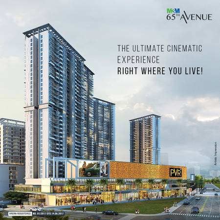 M3M 65th Avenue - Ultimate Cinematic Experience Right Where