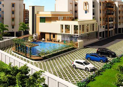 Ready to Move in Apartment in Coimbatore | 3 BHK - Provident