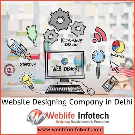 Best Website Designing Company in Delhi | Weblife Infotech