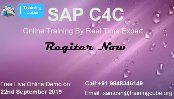 SAP C4C LIVE ONLINE TRAINING