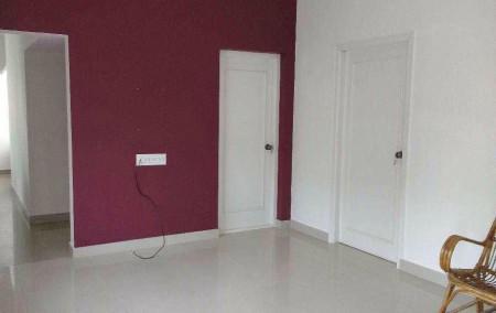 Lease Ramkrishna Nagar 3 BHK Semi furnished House Lease