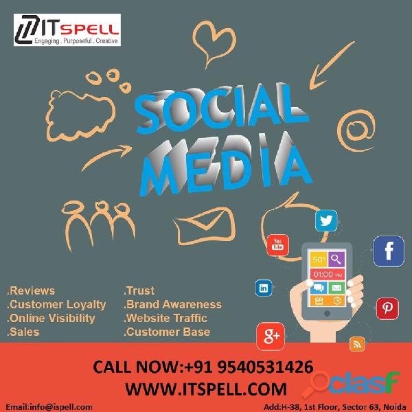 Top Social Media Agency in Noida
