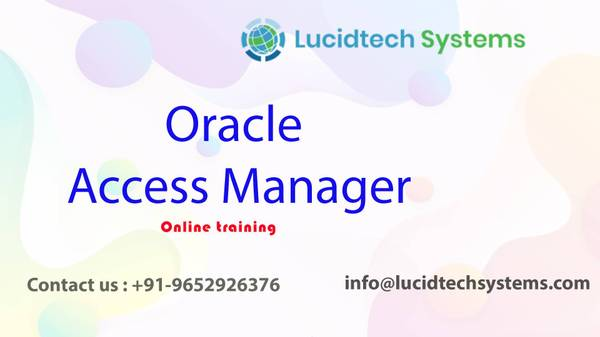 Oracle Access Manager Online Training in Hyderabad | Oracle