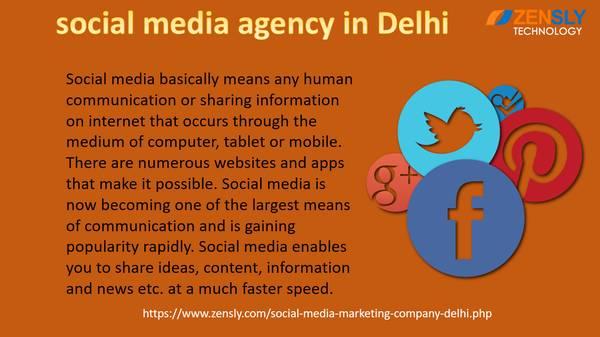 Social Media Agency In Delhi