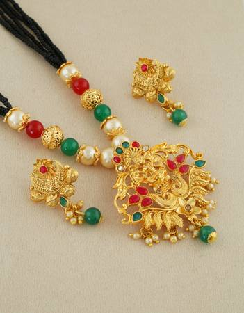 Get Online Collection of Latest Mangalsutra Designs at