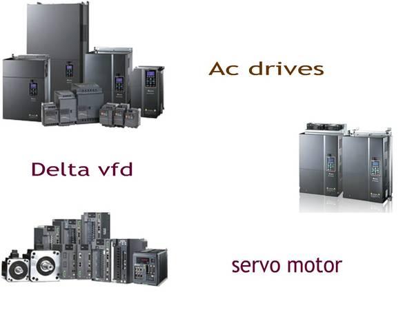 c drives   servo motor   Delta vfd suppliers in
