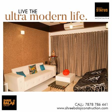 NO GST - Affordable 3BHK Luxurious Apartment IN Mehsana