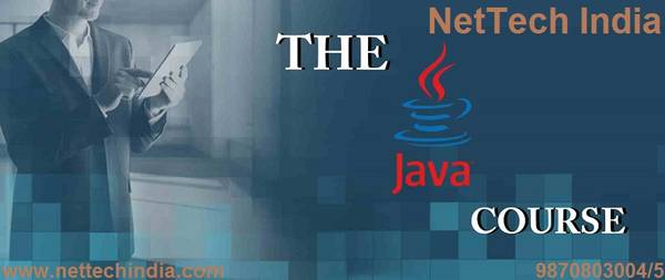 Learn complete Java course from NetTech India
