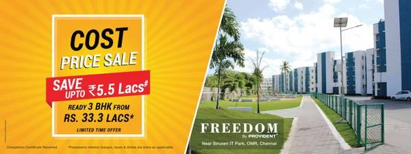 Provident Freedom | Flats in Chennai | Ready to Move Flats