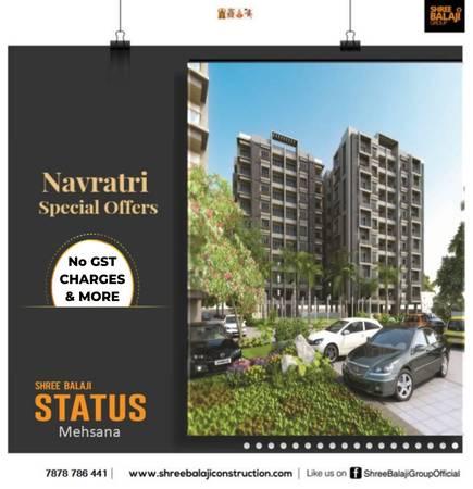 3 BHK Luxurious Apartment IN Status Mehsana