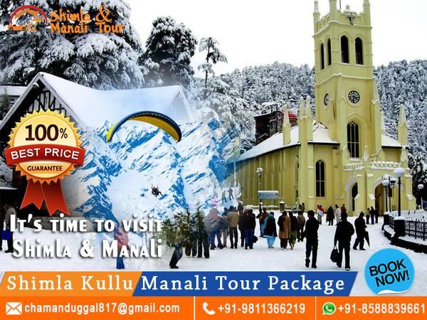 Shimla Kullu Manali Tour Package From Delhi