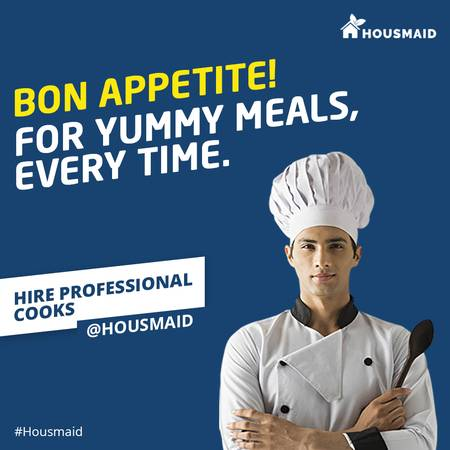 Housmaid- Book a Cook Online