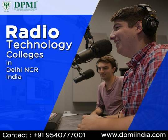 Radio Technology Colleges in Delhi NCR India