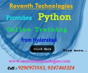 Python Online Training in India