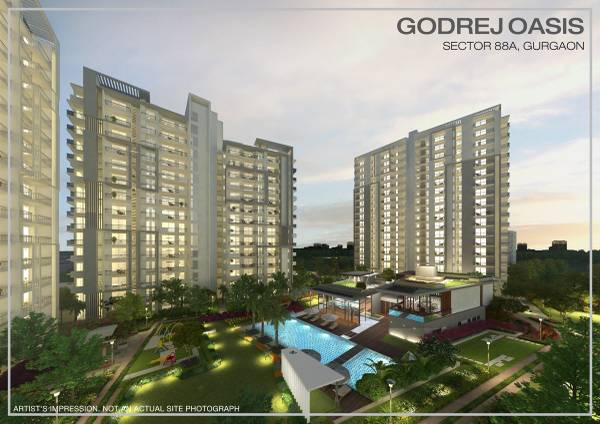 Godrej Oasis – Ready to move 2/3BHK in Sector 88A, Gurgaon