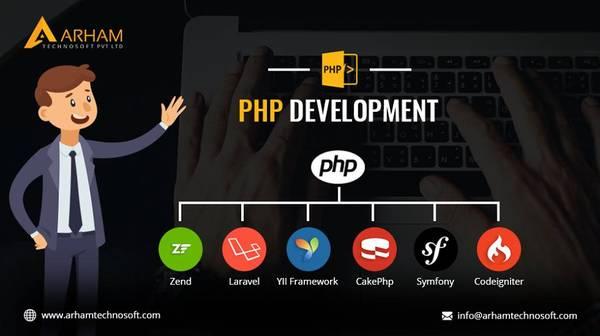 PHP Web Development Company in India  ArhamTechnosoft
